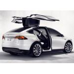 Tesla Motors рассекретила свой первый серийный электрический кроссовер Model X!